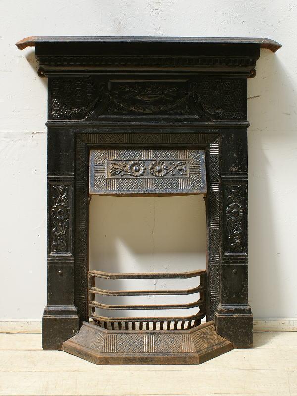 イギリス アンティーク ファイヤープレイス 暖炉 ディスプレイ 6484