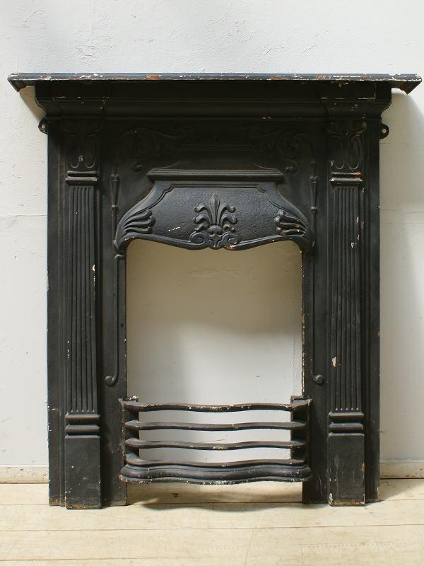 イギリス アンティーク ファイヤープレイス 暖炉 ディスプレイ 6485