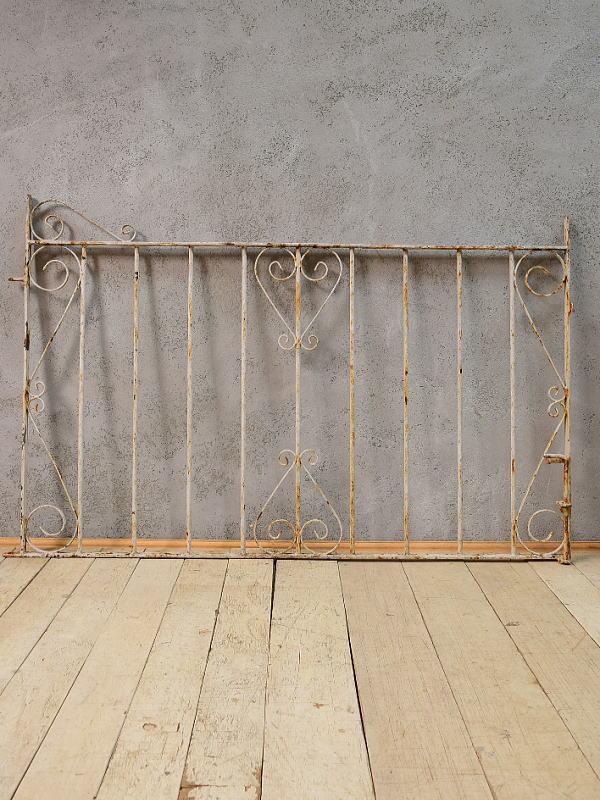 イギリス アンティーク アイアンフェンス ゲート柵 ガーデニング 6552