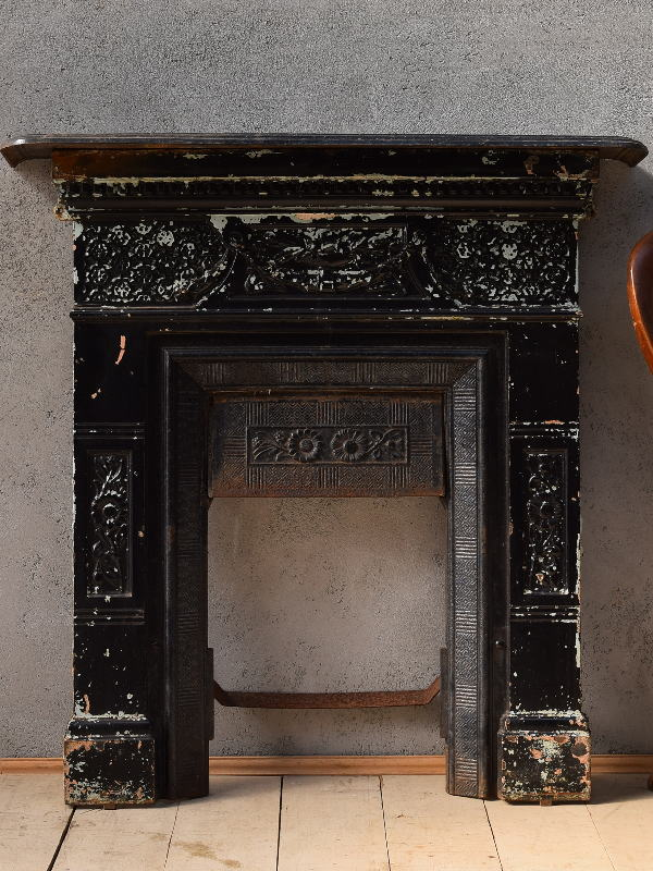 イギリス アンティーク ファイヤープレイス 暖炉 ディスプレイ 6620
