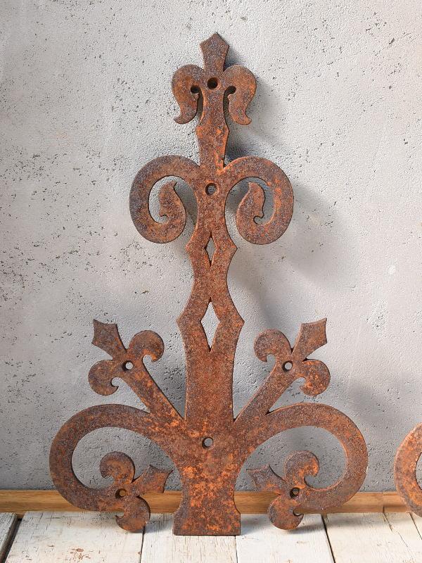 イギリス アンティーク アイアン 建具装飾金物 6727