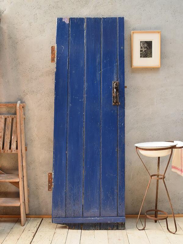 イギリス アンティーク 木製ドア 扉 建具 6758