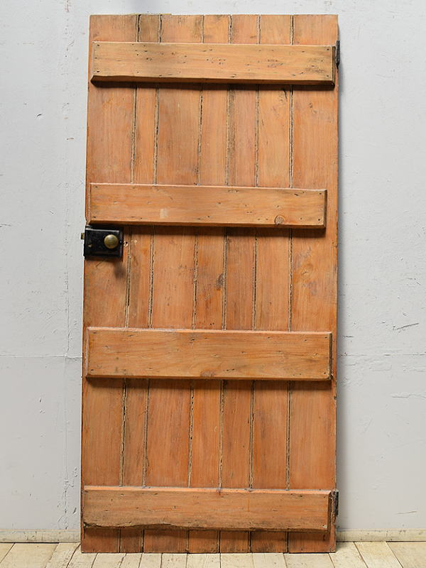 イギリス アンティーク 木製ドア 扉 ディスプレイ 建具 6890