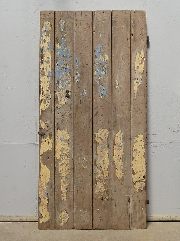 イギリス アンティーク 木製ドア 扉 ディスプレイ 建具 6915