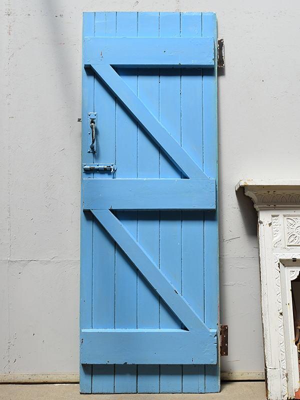 イギリス アンティーク 木製ドア 扉 ディスプレイ 建具 6916