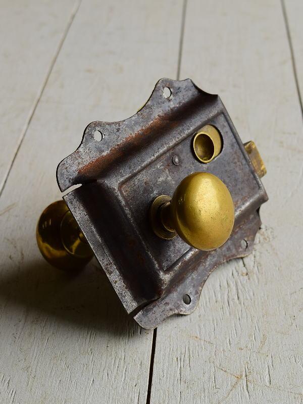 イギリス アンティーク ラッチ&ドアノブ 建具金物 6958