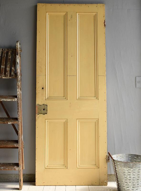 イギリス アンティーク 木製ドア ディスプレイ 建具 6964