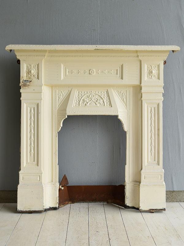 イギリス アンティーク ファイヤープレイス 暖炉 ディスプレイ 7027