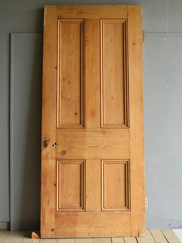 イギリス アンティーク オールドパインドア 扉 建具 7032
