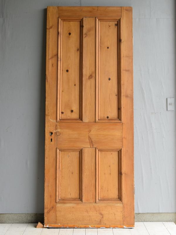 イギリス アンティーク オールドパインドア 扉 建具 7070