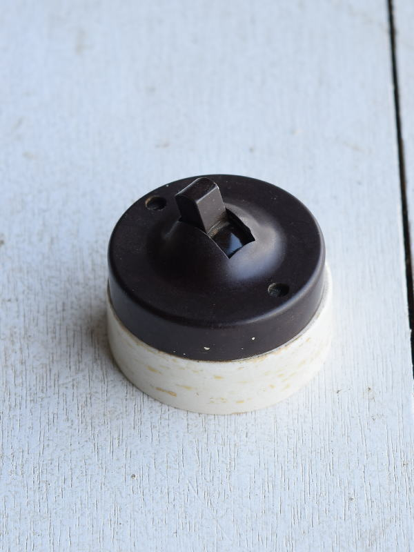 イギリス アンティーク スイッチ 照明器具 7092