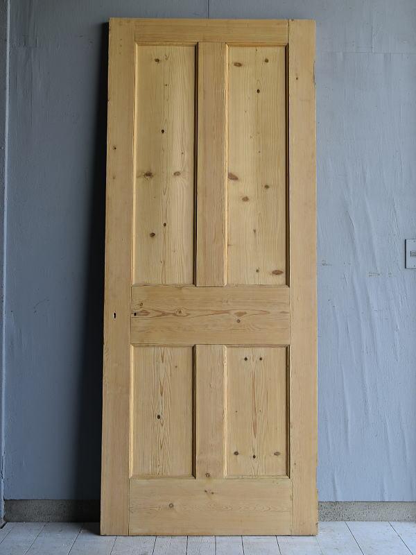 イギリス アンティーク オールドパインドア 扉 建具 7119