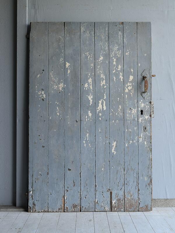 フレンチ アンティーク 木製ドア 扉 ディスプレイ 建具 7121