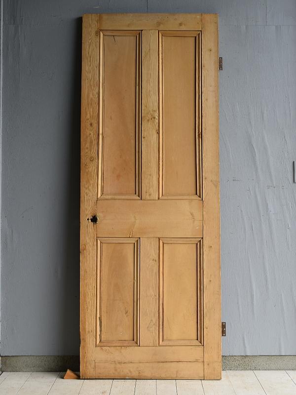 イギリス アンティーク オールドパインドア 扉 建具 7124