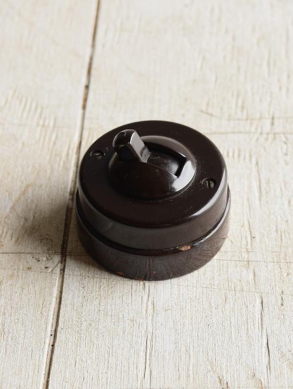 イギリス アンティーク スイッチ 照明器具 7130