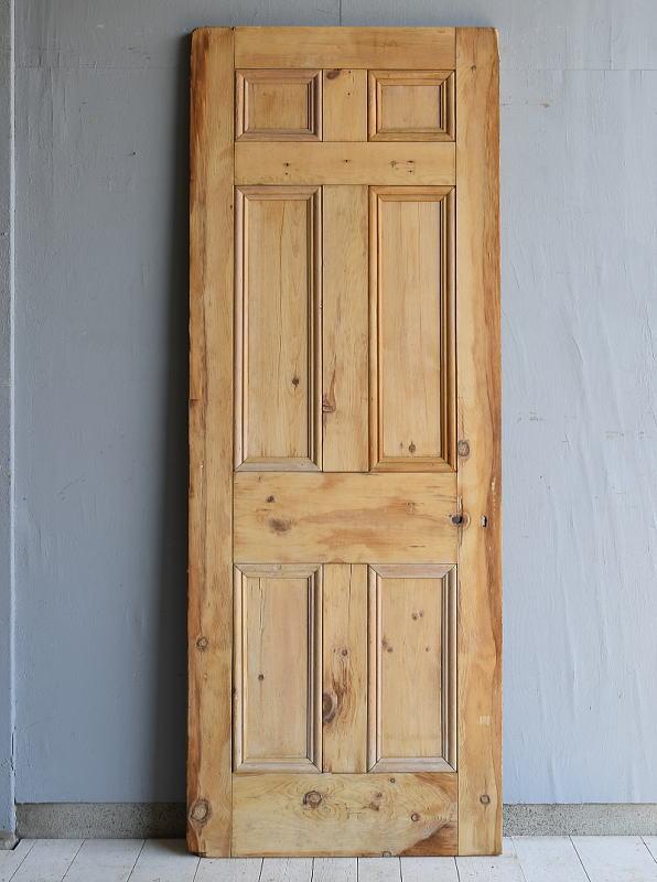 イギリス アンティーク オールドパインドア 扉 建具 7176