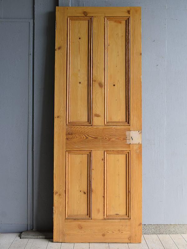 イギリス アンティーク オールドパインドア 扉 建具 7541