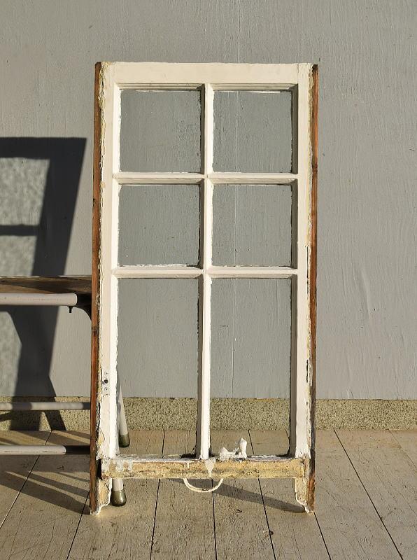 イギリス アンティーク 木製窓 ディスプレイ 建具 7565