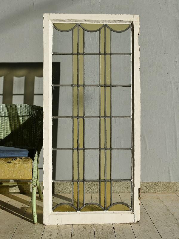 イギリス アンティーク ステンドグラス 窓 7582