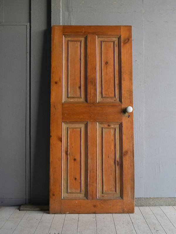 イギリス アンティーク オールド パイン ドア 扉 建具 7594