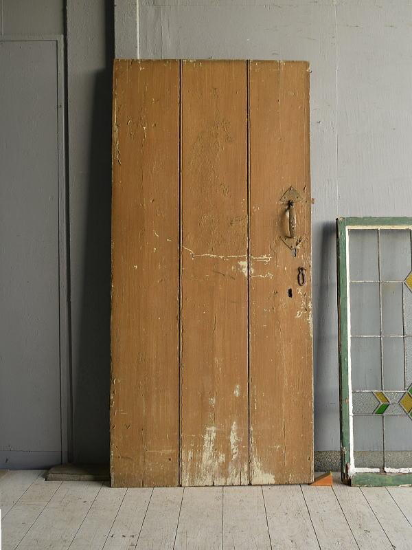 イギリス アンティーク ドア 扉 ディスプレイ 建具 7595