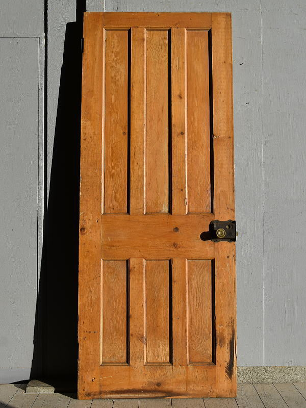 イギリス アンティーク オールド パイン ドア 扉 建具 7602