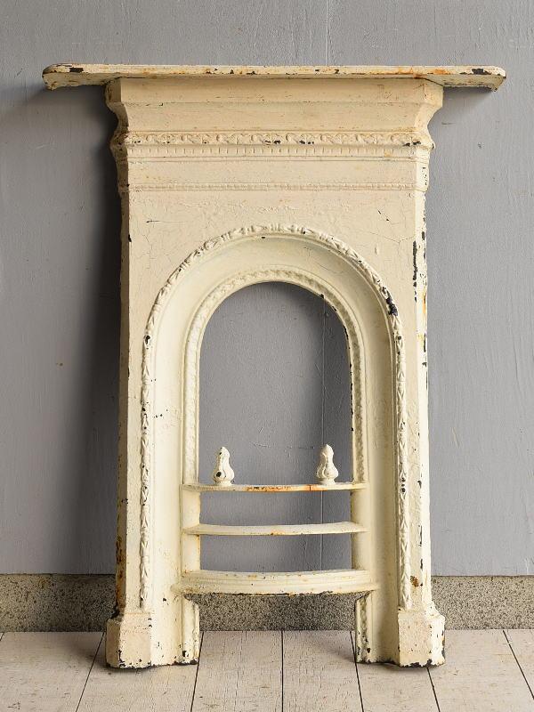 イギリス アンティーク ファイヤープレイス 暖炉 ディスプレイ 7611