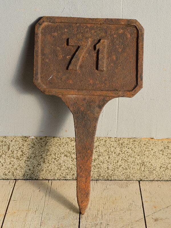 イギリス アンティーク レイルウェイサイン 鉄道標識 7617