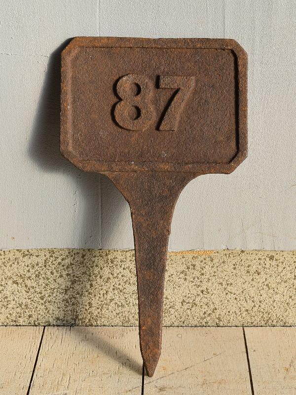 イギリス アンティーク レイルウェイサイン 鉄道標識 7618