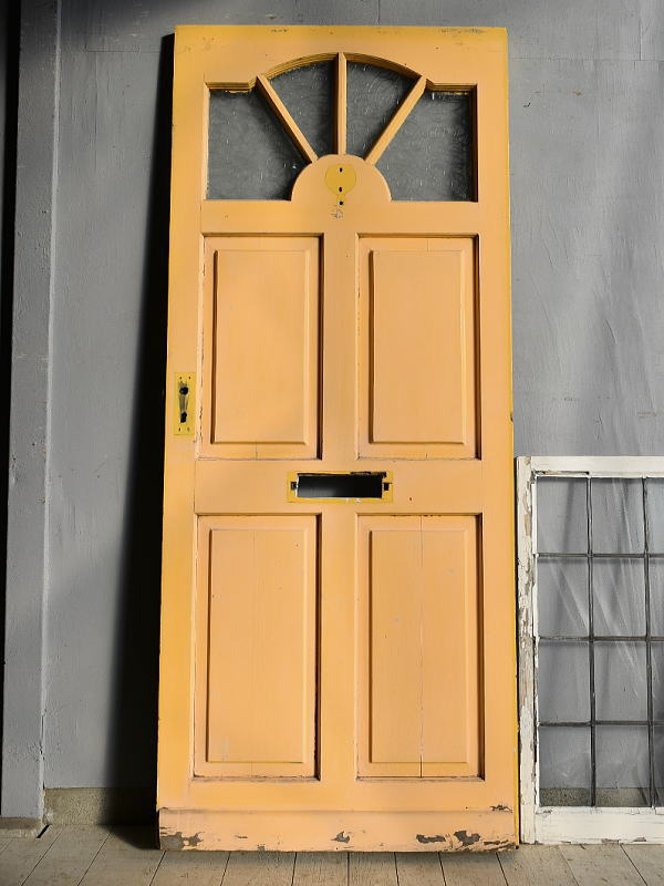 イギリス アンティーク ドア 扉 建具 7631