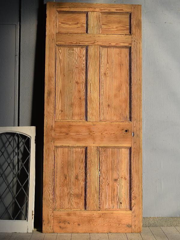 イギリス アンティーク オールドパイン ドア 扉 建具 7639