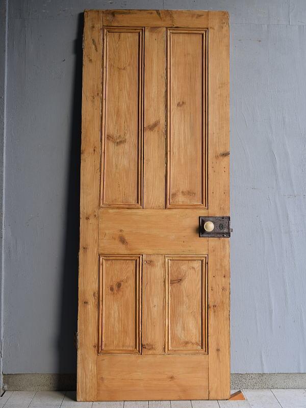イギリス アンティーク オールドパイン ドア 扉 建具 7650