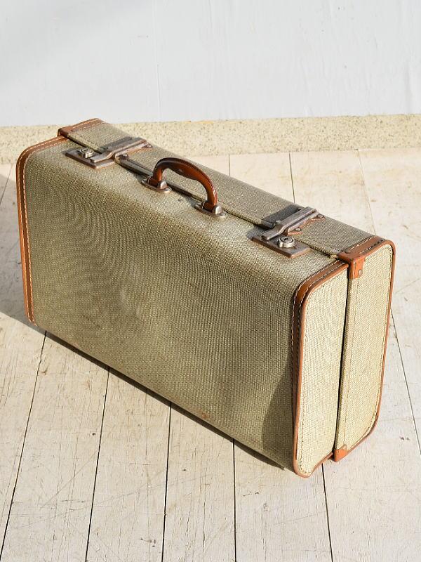 イギリス アンティーク スーツケース トランク ディスプレイ 旅行鞄 7655