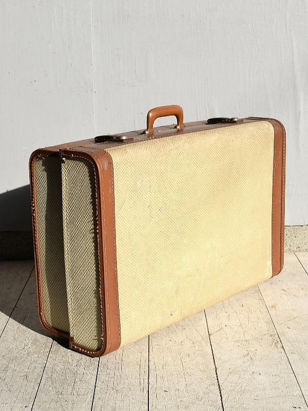 イギリス アンティーク スーツケース トランク ディスプレイ 旅行鞄 7656