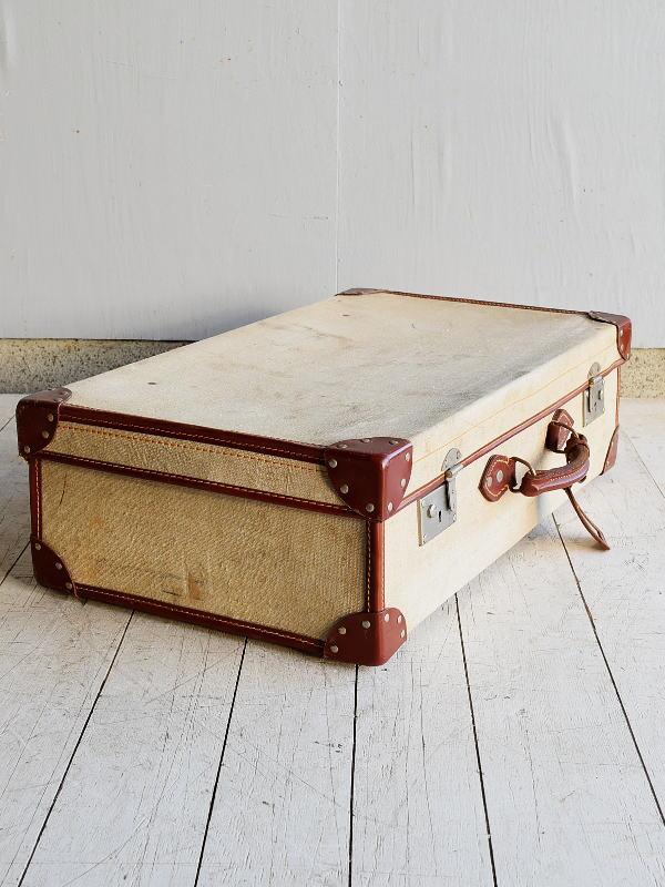 イギリス アンティーク スーツケース トランク ディスプレイ 旅行鞄 7657