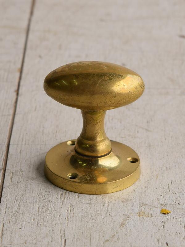イギリス アンティーク 真鍮 ドアノブ 建具金物 握り玉 7666