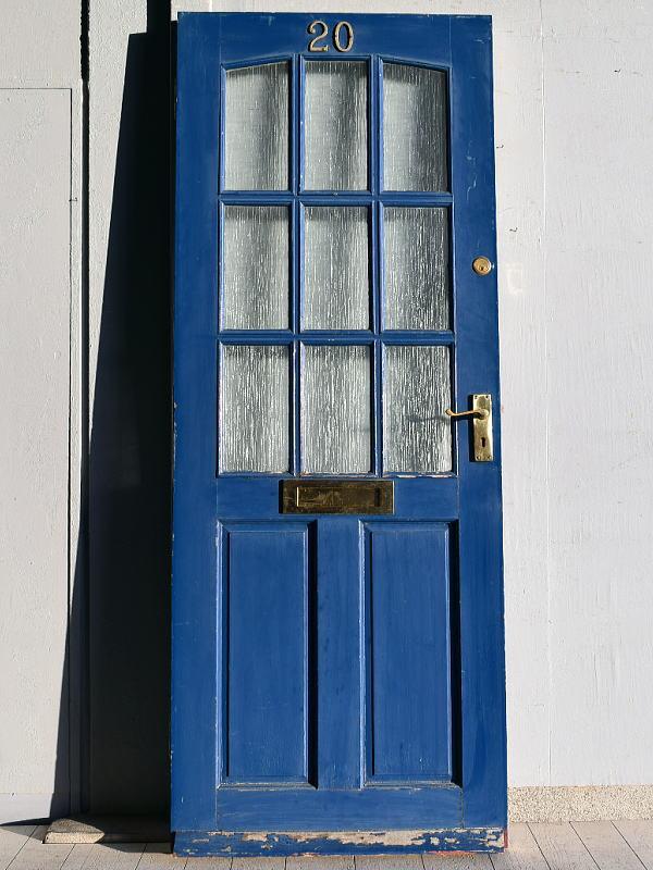 イギリス アンティーク ガラス ドア 扉 ディスプレイ 建具 7673