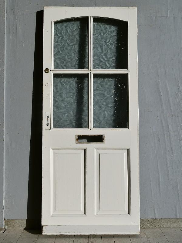 イギリス アンティーク ガラス ドア 扉 ディスプレイ 建具 7675