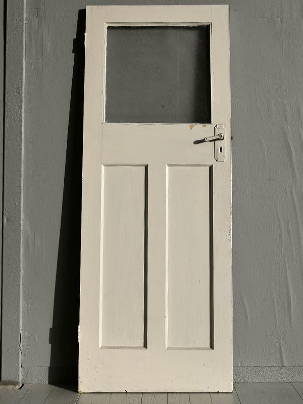 イギリス アンティーク ガラス ドア 扉 ディスプレイ 建具 7692