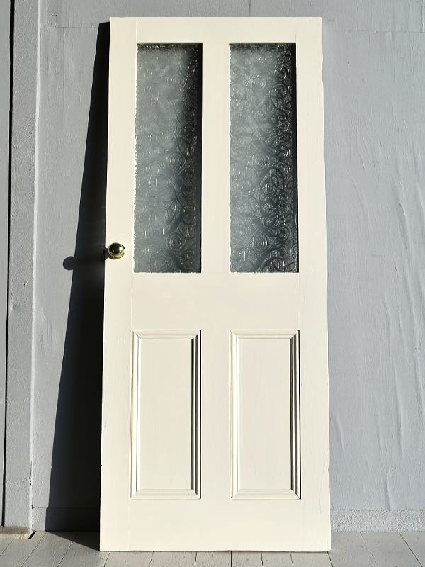 イギリス アンティーク ガラス ドア 扉 ディスプレイ 建具 7695