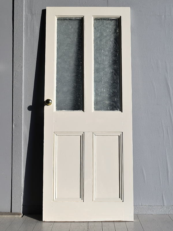 イギリス アンティーク ガラス ドア 扉 ディスプレイ 建具 7696