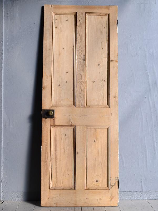 イギリス アンティーク オールドパイン ドア 扉 建具 7707