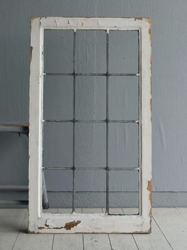 イギリス アンティーク 窓 無色透明 7722