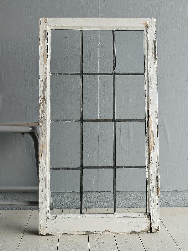 イギリス アンティーク 窓 無色透明 7722D