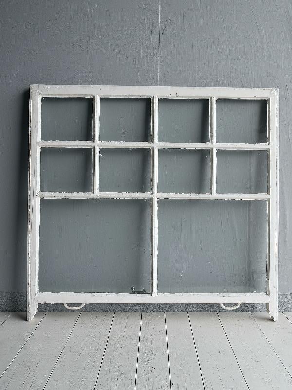 イギリス アンティーク 窓 無色透明 7724B