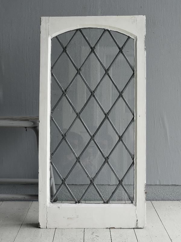 イギリス アンティーク 窓 無色透明 7733