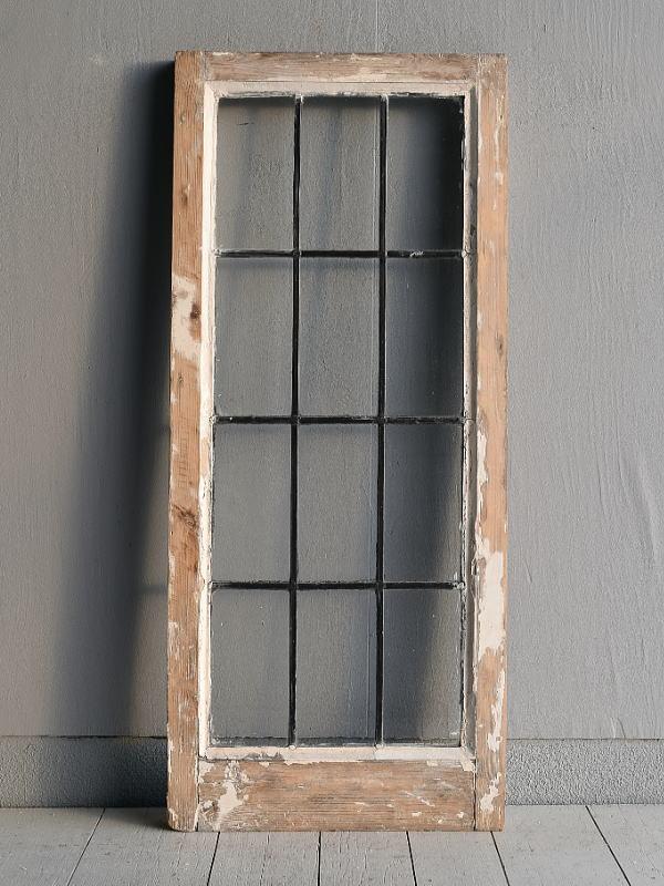 イギリス アンティーク 窓 無色透明 7734A