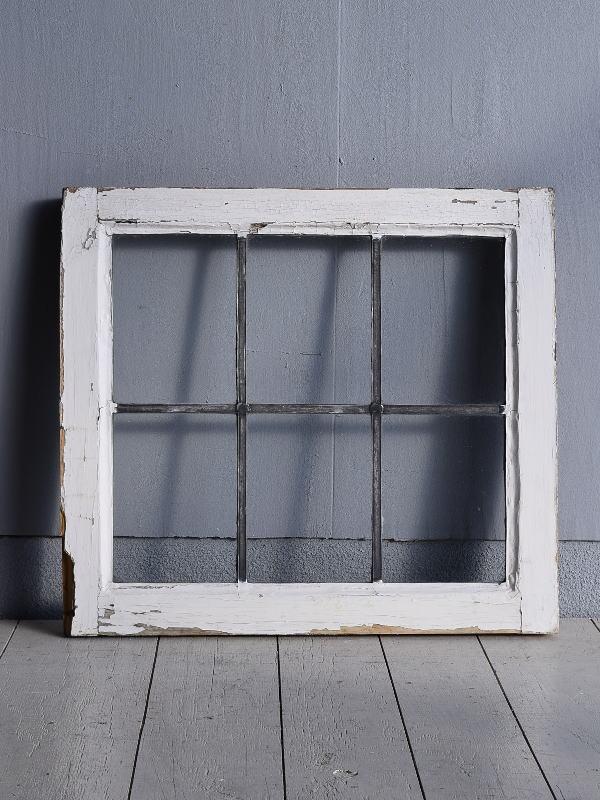 イギリス アンティーク 窓 無色透明 7735C