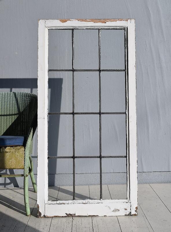 イギリス アンティーク 窓 無色透明 7753