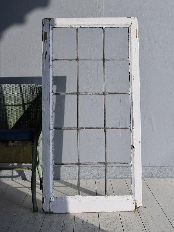 イギリス アンティーク 窓 無色透明 7754